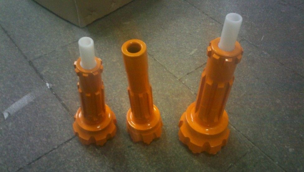 Dimensional Stone Industry DTH Hammers And Bits With Low Air Consumption