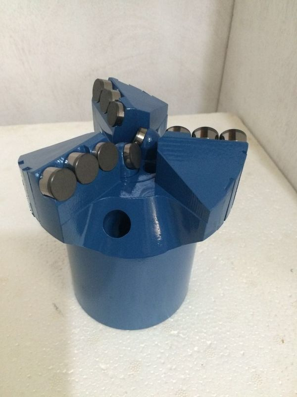 Soft Formation PDC Drag Bit 75 Mm To 191 Mm Diameter Chevron And Step Type
